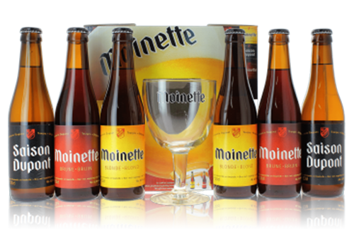 Présentoir en carton pour bouteilles de bière - Lux Emballages Belgique, Luxembourg, France