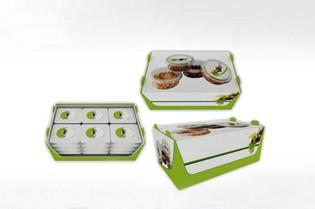 Packaging en carton pour produits alimentaires - Lux Emballages