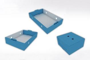 Packaging en carton pour grande distribution - Lux Emballages