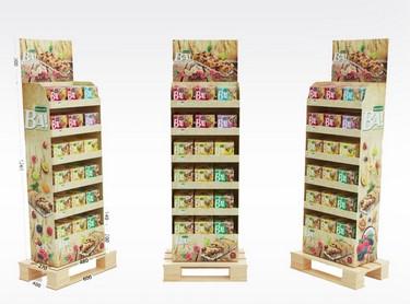 PLV carton pour tous types de produits - Lux Emballages