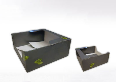 Boîte pour packaging en carton
