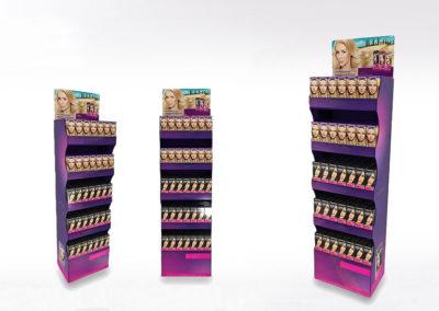 Display carton, PLV Lux Emballages