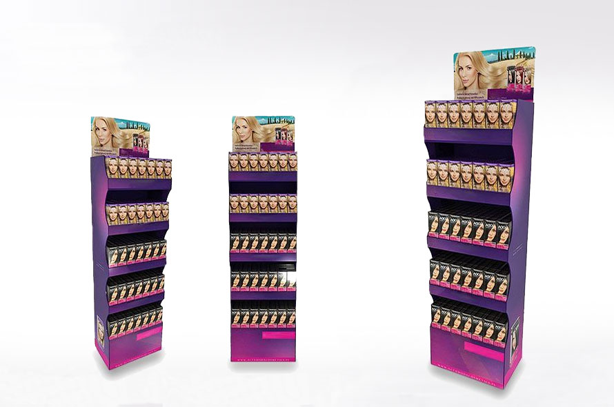Présentoir display en carton -  Lux Emballages, expert en PLV carton