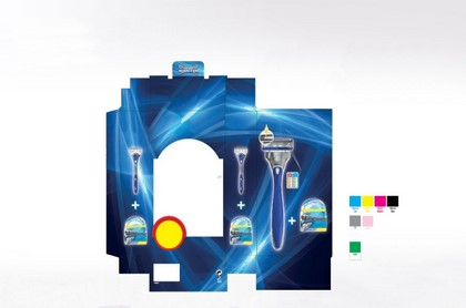 Display carton, présentoir de PLV - Lux Emballages
