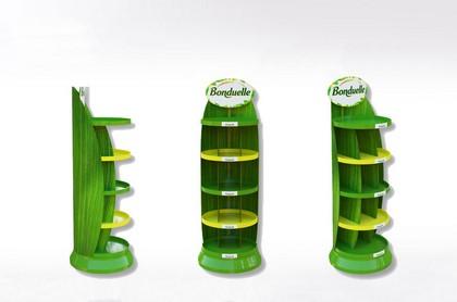 Display carton pour produits alimentaires - Lux Emballages