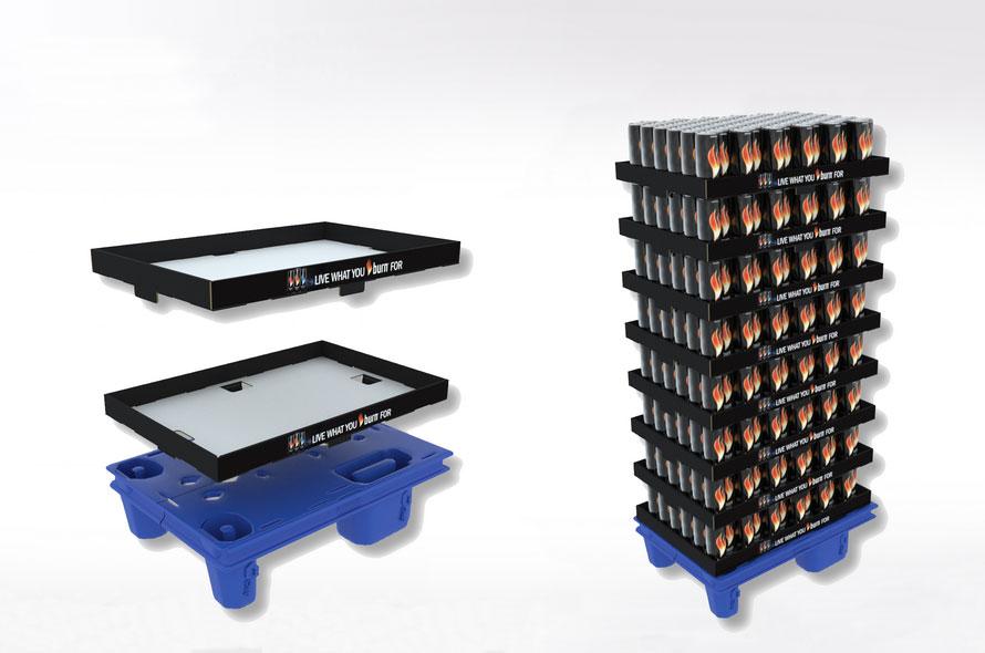 PLV carton et plastique - Lux Emballages, expert en PLV carton
