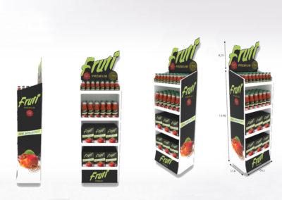 Display, présentoir carton - Lux Emballages