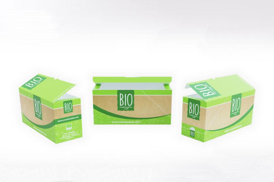 Packaging carton pour produit alimentaire - Lux Emballages, expert en PLV carton