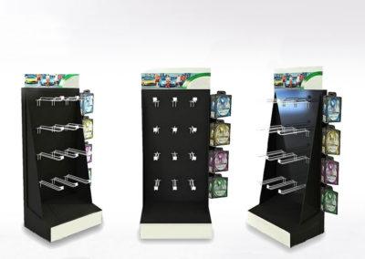 PLV carton, présentoir de mise en avant - Lux Emballages