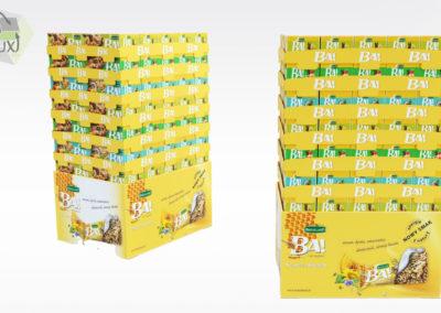 Présentoir de PLV carton - Lux Emballages