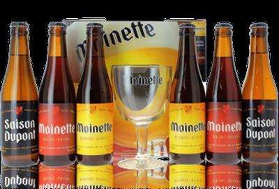 Packaging carton pour bouteilles de bière