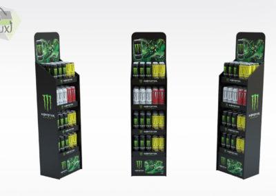 Présentoir en carton - Lux Emballages