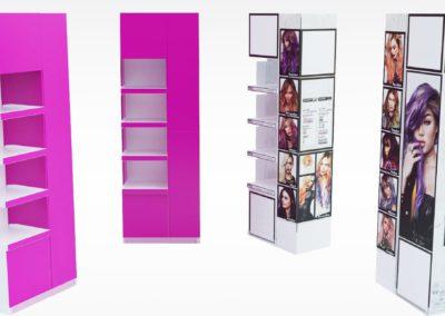 Displays et outils de PLV en carton