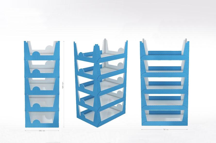 Boîtes en carton sur mesure - Lux Emballages, expert en PLV carton