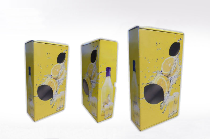 Display carton personnalisé - Lux Emballages, expert en PLV carton
