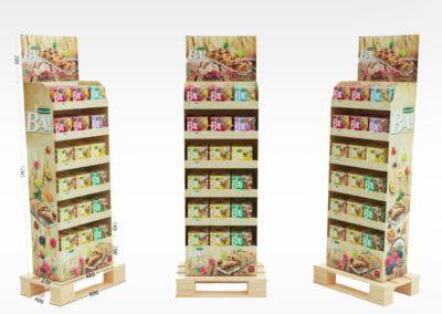 Présentoir, display, PLV carton - Lux Emballages