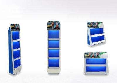 PLV carton et présentoir de comptoir