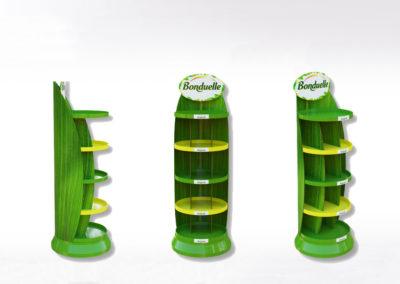 Présentoir carton de mise en avant - Lux Emballages
