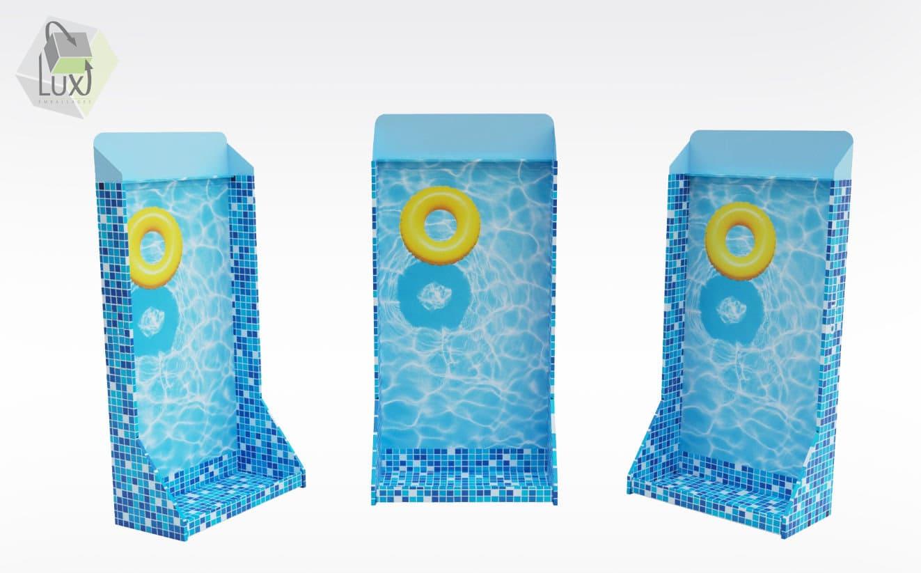 Display carton - Lux Emballages, expert en PLV carton