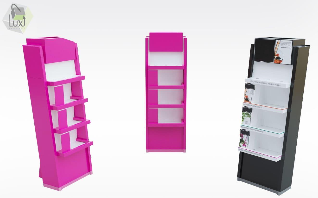 Présentoirs et PLV carton - Lux Emballages, expert en PLV carton