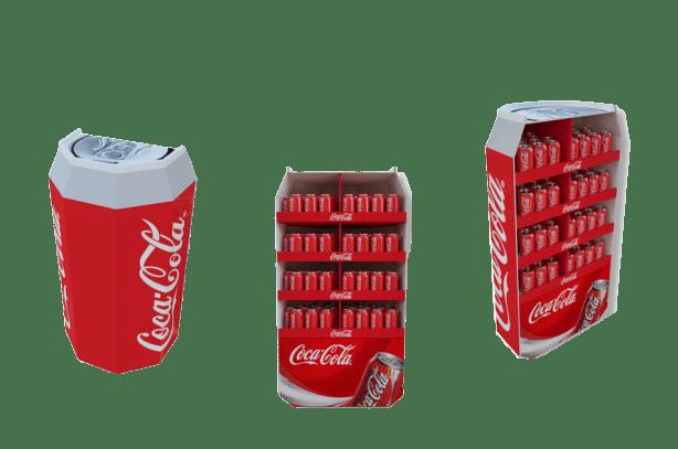 PLV carton, présentoir - Lux Emballages