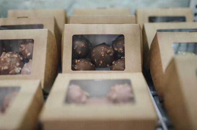 Présentoir en carton pour produit alimentaire